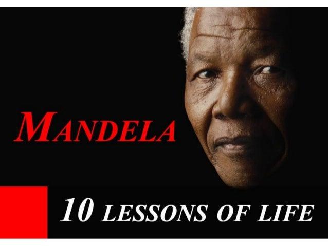 Mandela 10 Lessons of Life