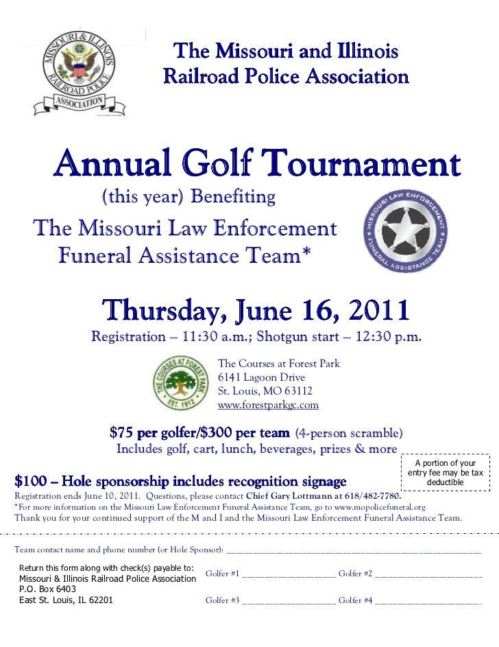 The Missouri and Illinois                                        Railroad Police Association                              ...