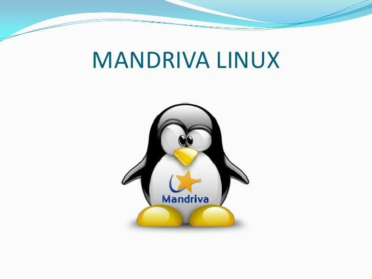 MANDRIVA LINUX<br />