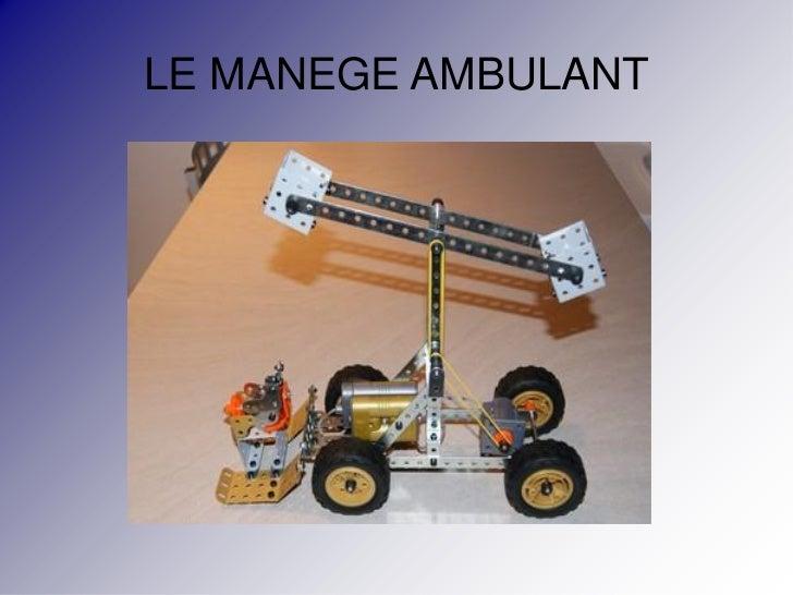 LE MANEGE AMBULANT