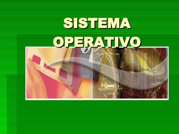 Manejo De Sistemas Operativos