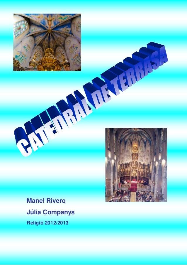 Manel i julia catedral de terassa