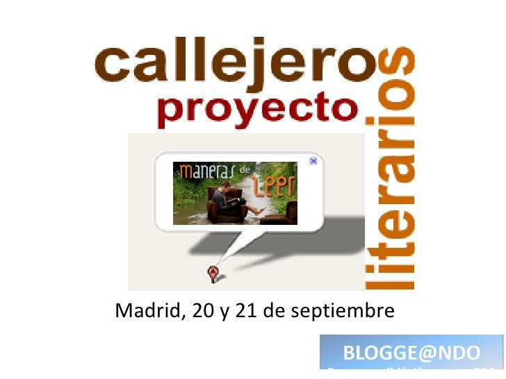 Madrid, 20 y 21 de septiembre