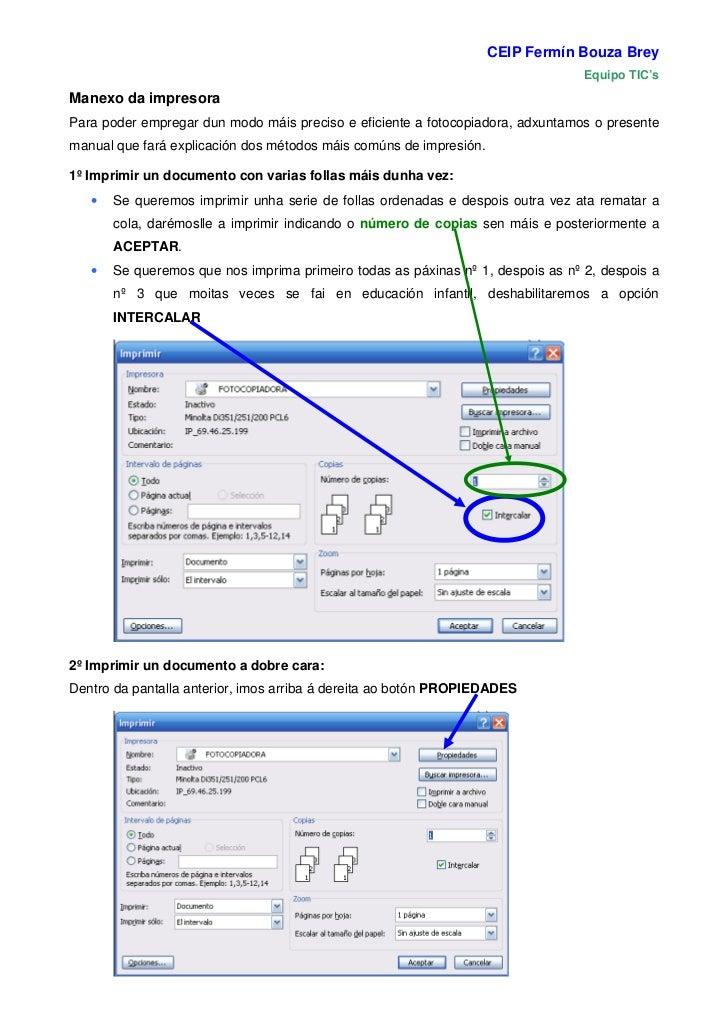CEIP Fermín Bouza Brey                                                                                 Equipo TIC'sManexo ...