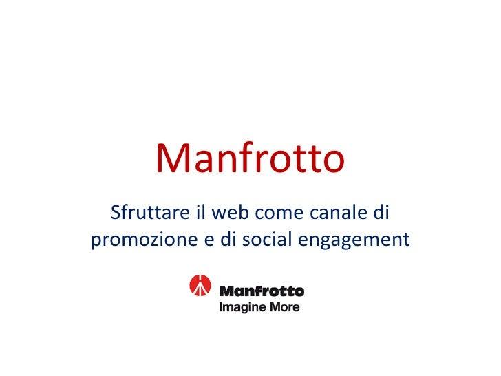 Manfrotto - Imagine More