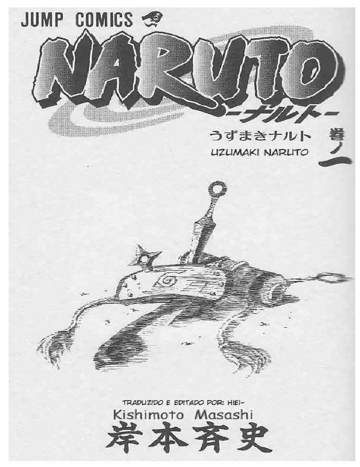 ANIMALOG NARUTO CLASSICO VOLUME 1 - 1 BETA