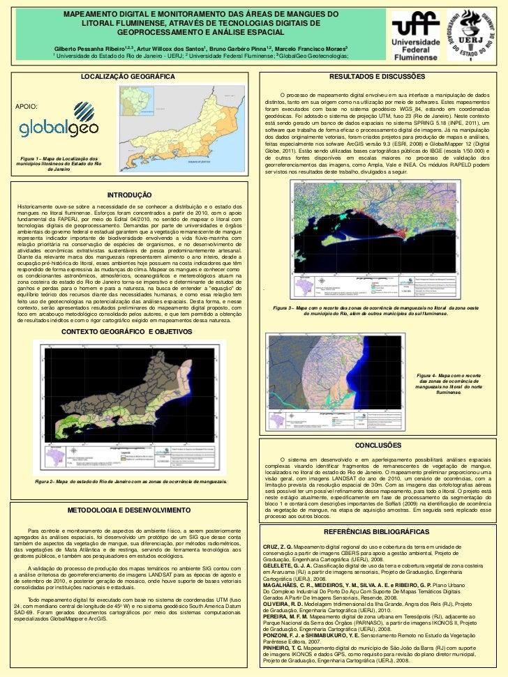 Mapeamento Digital e Monitoramento das áreas de mangues no litoral fluminense, através de tecnologias digitais de geoprocessamento e análise espacial
