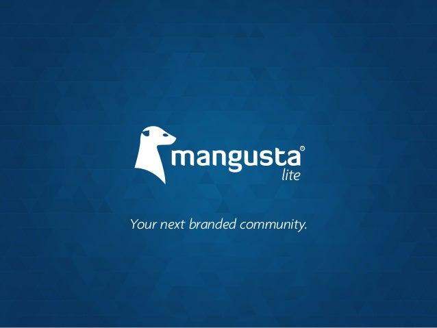 Nueva Plataforma Mangusta Lite