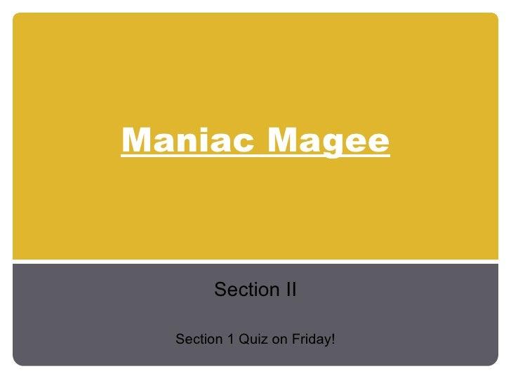 Maniac Magee Vocab 2