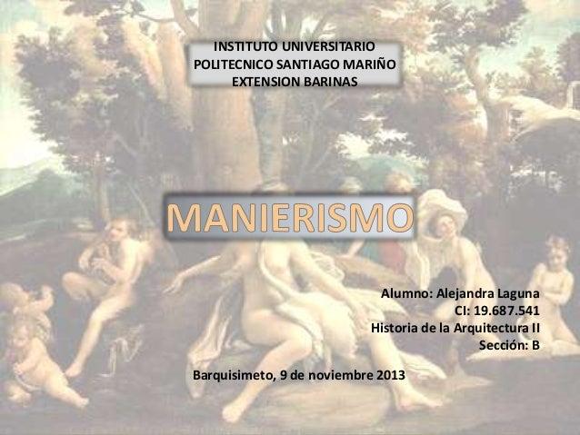 INSTITUTO UNIVERSITARIO POLITECNICO SANTIAGO MARIÑO EXTENSION BARINAS  Alumno: Alejandra Laguna CI: 19.687.541 Historia de...