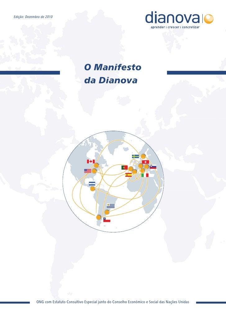 Manifesto Posicionamento Institucional Dianova