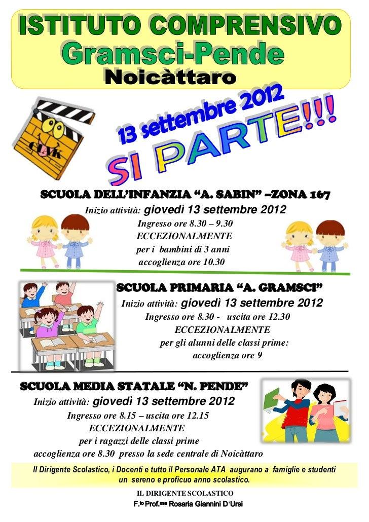 Manifesto unizio anno scolastico2012 13