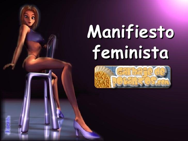 Manifiesto feminista