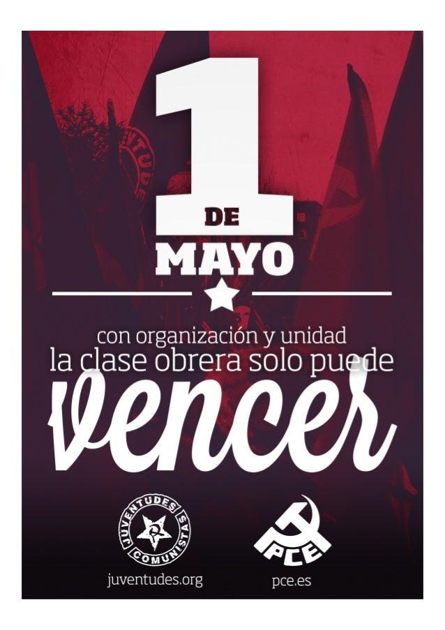Manifiesto 1º mayo