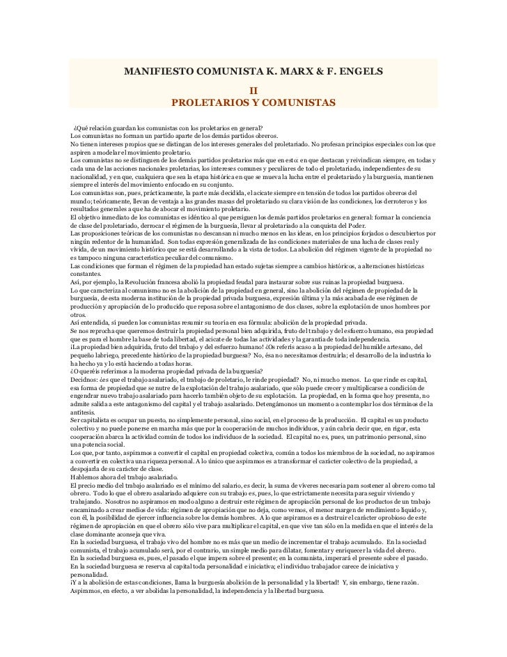 Manifiesto comunista k