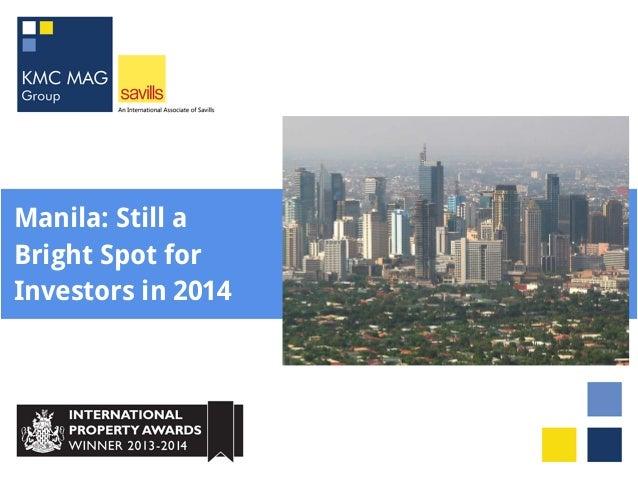 Manila: Still a Bright Spot for Investors in 2014