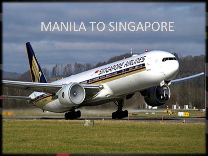MANILA TO SINGAPORE