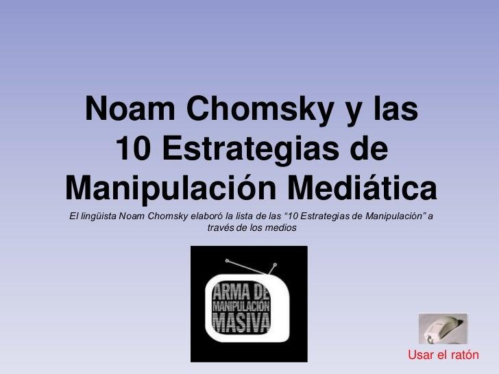 Manipulacion mediatica-10-mandamientos