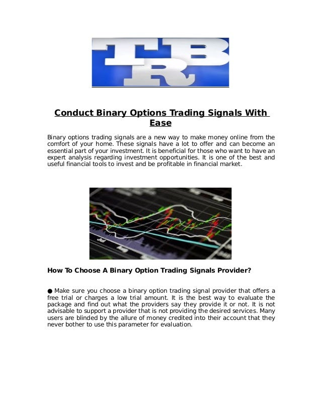 4 markets binary options signals