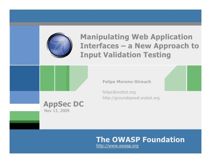 Manipulating Web App Interfaces: a new approach to input validation testing