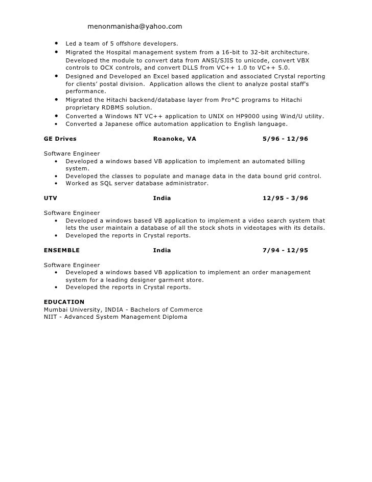 Business Objects Resume Samples,Sample Resume Resume Objective ...