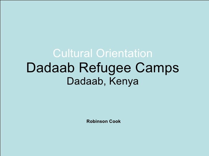 Dadaab Cultural Orientation Mankato MN - What Do Refugees Know About The U.S. Before Coming?