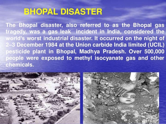 union carbides bhopal disaster