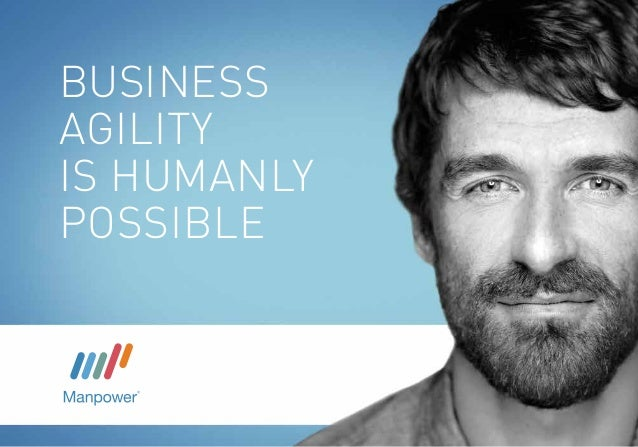 BUSINESS AGILITY is humanly possible