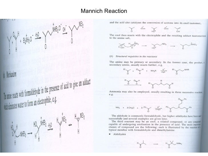 Mannich Reaction