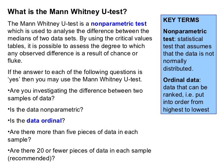 What statistical test should i use? Mann-Whitney?
