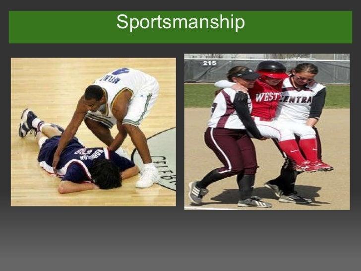 Manny's sportsmanship