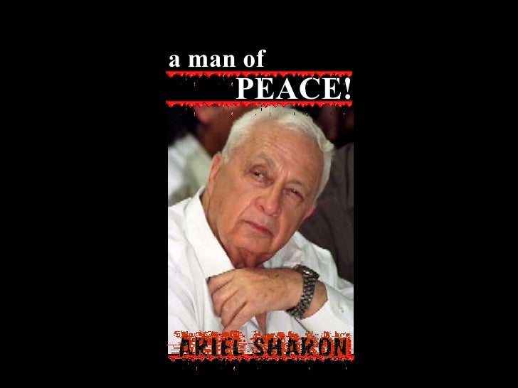 PEACE! a man of