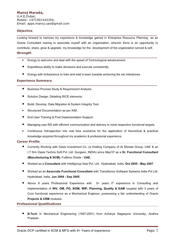 scm functional consultant resume professional oracle apps