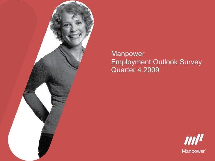 Manpower  Employment Outlook Survey Quarter 4 2009