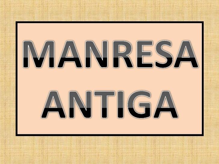 MANRESA- La cèntrica Plana de l'Om , amb l'arbre que li donava i li dónanom en primer terme, i el campanar de l'església d...