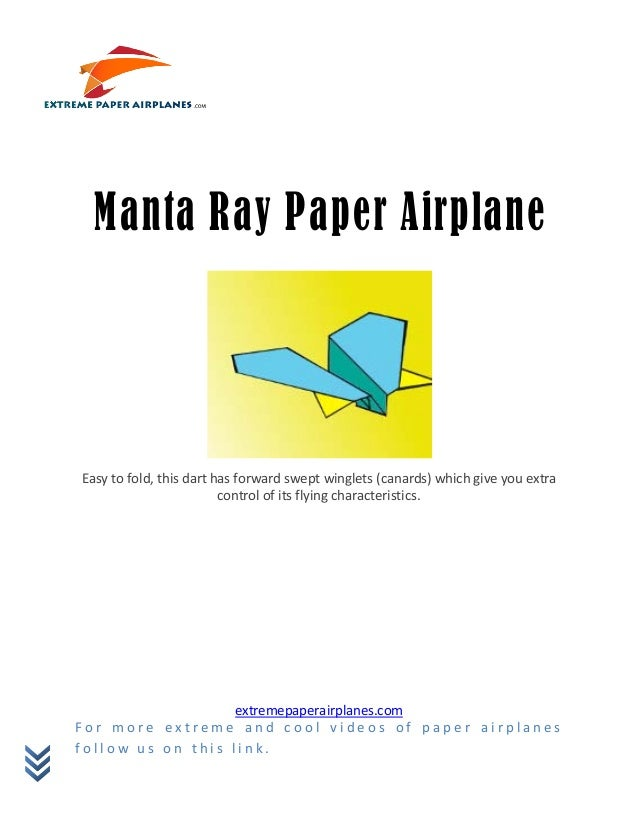 Easy to fold, this dart has forward swept winglets (canards) which give you extra                         control of its f...