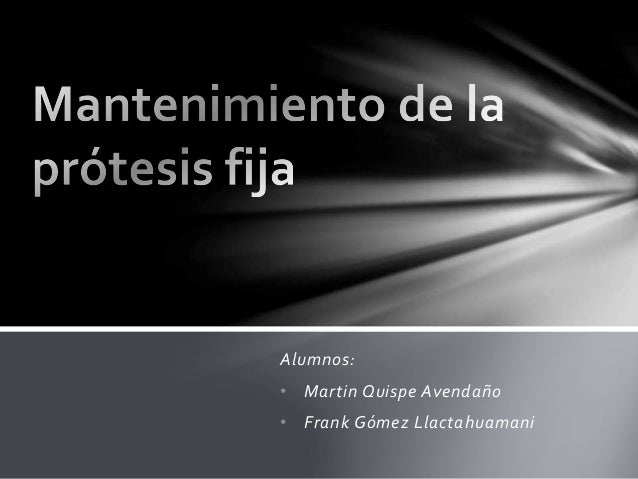 Alumnos: • Martin Quispe Avendaño • Frank Gómez Llactahuamani