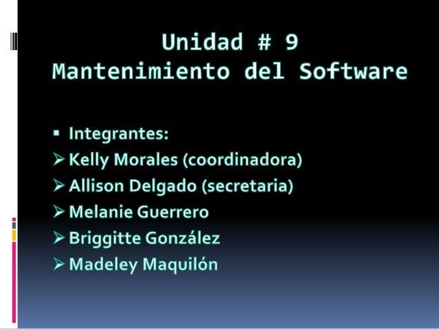 Mantenimiento del software_unidad___9