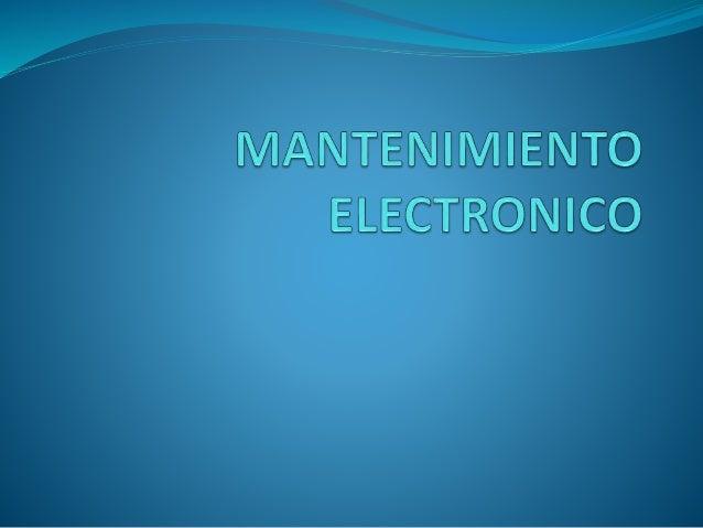 Un buen plan de mantenimiento preventivo para sus equipos electrónicos críticos en la cadena de producción, reduce: los ri...