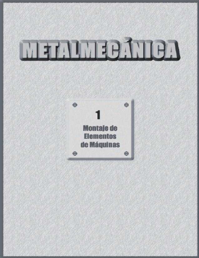 Mantenimiento mecanico u1