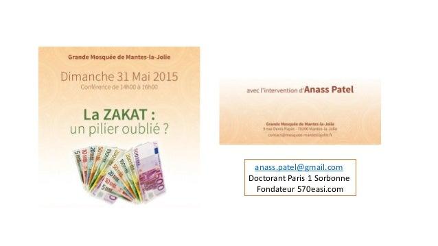 • anass.patel@gmail.com Doctorant Paris 1 Sorbonne Fondateur 570easi.com