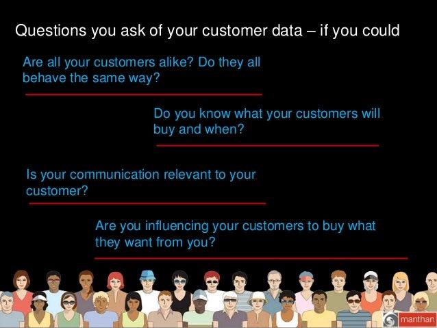 Manthan Customer Analytics – Predict.Personalize.Profit