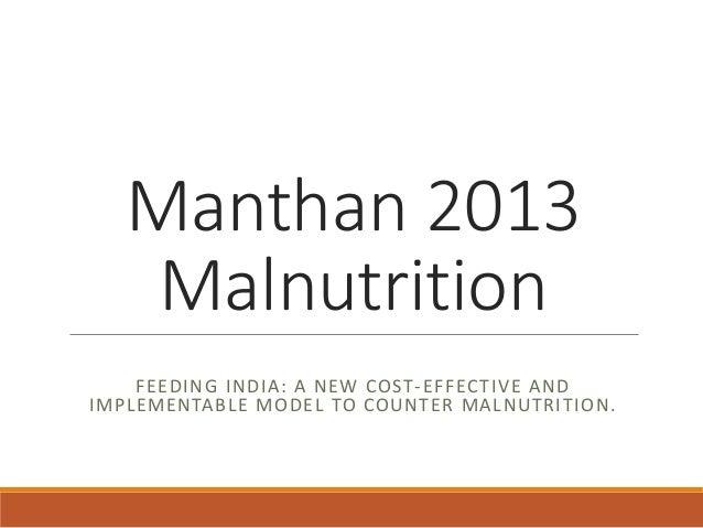 Manthan iitm team