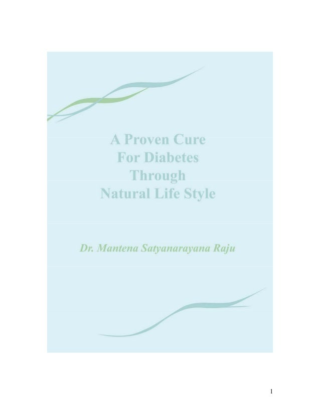 Manthena raju  a proven cure diabetes
