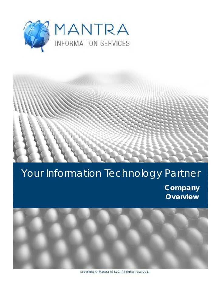 Your Information Technology Partner                                                              Company                  ...
