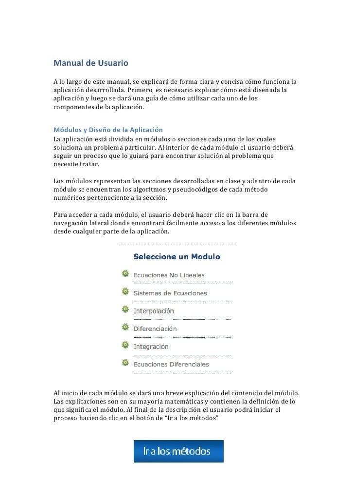 Manual de Usuario<br />A lo largo de este manual, se explicará de forma clara y concisa cómo funciona la aplicación desarr...