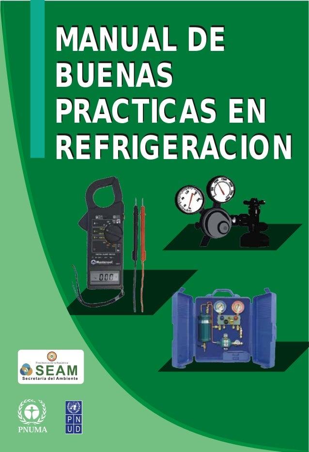 Manual de buenas practicas de refrigeraci n for Manual de viveros forestales pdf