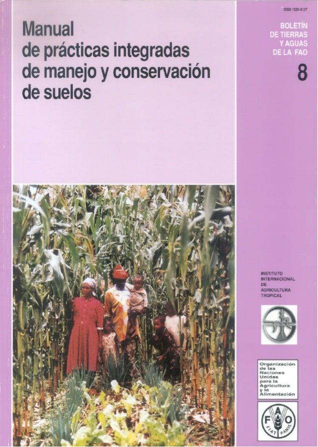 Fotografía de la cubierta de Francis Shaxson. En una finca familiar se usan abonos orgánicos y composte para mejorar la fe...