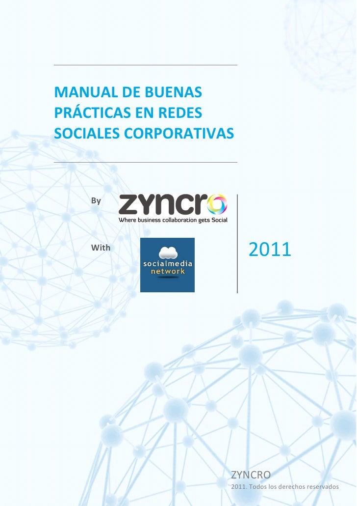 Manual buenas practicas Redes Sociales Corporativas
