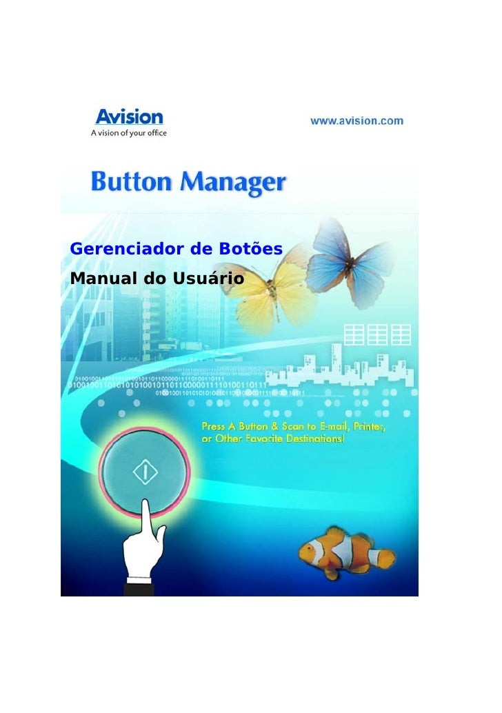 Manual Software Button Manager - AVISION
